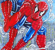 Spiderman by emmaline