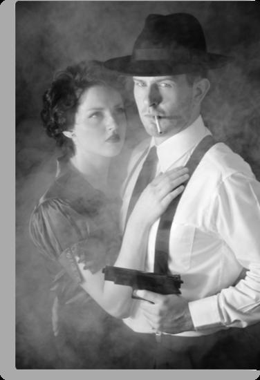 Film Noir practice by beeater