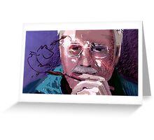 Self Portrait Landscape - 8/10 Greeting Card