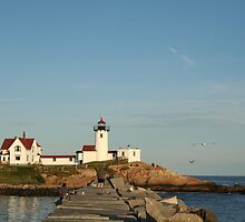 East Point Lighthouse by Linda Jackson