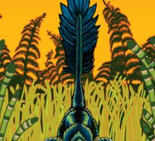 Troodon in the Rushes Sticker