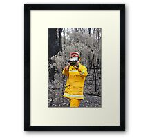 Some Colour in a Grey World Framed Print