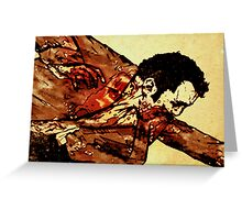 Unidentified Zombie Greeting Card