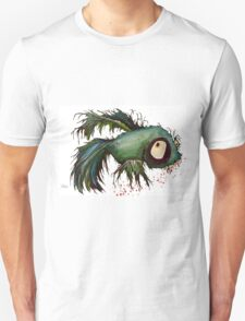 """ds"" the zombie betta fish Unisex T-Shirt"