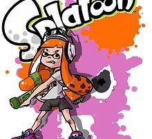 Splatoon  Orange  by Madnix