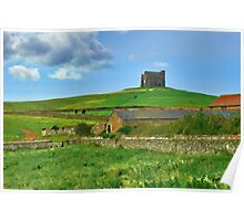 Chapel On The Hill ~ Abbotsbury, Dorset Poster