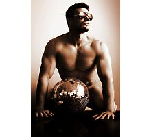 Disco balls Photographic Print