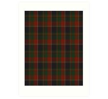 00120 Quebec, Plaid du (District) Tartan Art Print
