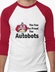 Transformers - The Few The Proud - Black Font T-Shirt