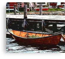 Nantucket Sleigh Ride Whaleboat Canvas Print