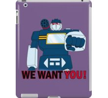 Transformers - We Want You - Decepticons iPad Case/Skin