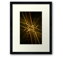 Busy Intersection Framed Print