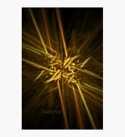 Busy Intersection Photographic Print