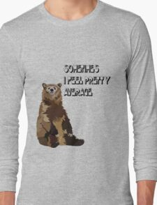 average bear Long Sleeve T-Shirt