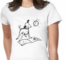 My Pooch and Mr Sputnik Womens Fitted T-Shirt