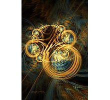 Ring of Chaos 4 Photographic Print