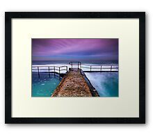 Austinmer, Looking Out Framed Print