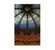 Paris Galeries Lafayette II Art Print