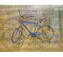 Bicycles and Tricycles Photographic Print