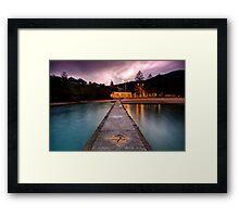 Austinmer, Looking In Framed Print