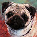Pug: 'Marbleton sun dress' by rickdickinson