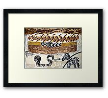 Wild Safari Framed Print