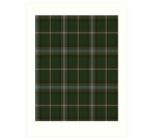 00124 Labrador District Tartan  Art Print