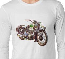 Royal Enfield Motorcycle Long Sleeve T-Shirt