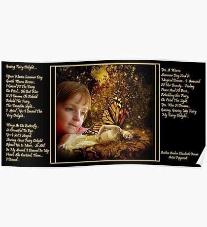 Gazing Fairy Delight ... Poster
