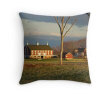 The Cordori Barn Throw Pillow