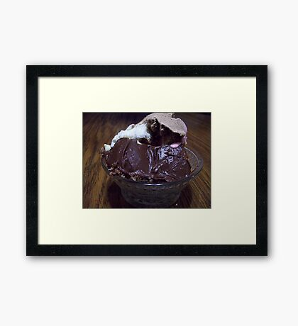 Chocolate Delite Framed Print