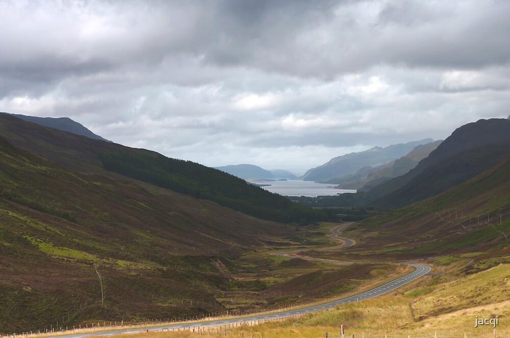 Loch Maree Scotland by jacqi
