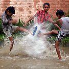 SUMMER RAIN FUN by RakeshSyal