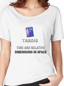 Time And Relative Dimensions In Space Women's Relaxed Fit T-Shirt