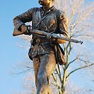 Union Soldier at Sunrise by OntheroadImage