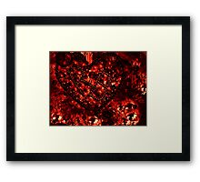 Only Coz of U Framed Print