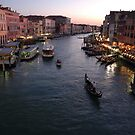 View From The Rialto Bridge, Twilight 2009 by Ainsley Kellar Creations