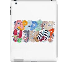 Untamed Alphabet iPad Case/Skin
