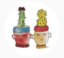 Cacti Couplet | Emma  One Piece - Short Sleeve