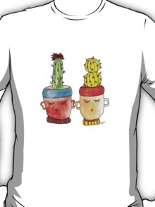 Cacti Couplet   Emma  T-Shirt