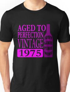 Vintage 1975 Aged To Perfection Unisex T-Shirt