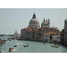 View From Accademia Bridge, Midday, 2009 Photographic Print