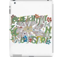 Garden Alphabet iPad Case/Skin