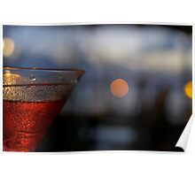 Bokeh Cocktail Poster