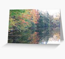 Clear Lake revisited Greeting Card