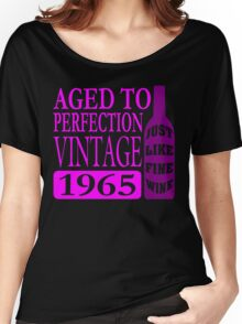 Vintage 1965 Aged To Perfection Women's Relaxed Fit T-Shirt