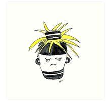 Craig The Convict Cactus | Emma Watts  Art Print