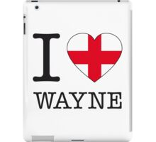 I ♥ WAYNE iPad Case/Skin