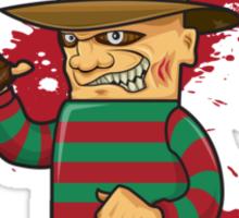 Freddy Kruger Sticker