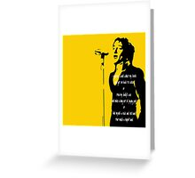Rod Stewart - Maggie May Greeting Card